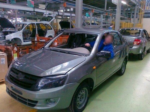 Новая Lada Granta (4 фото)