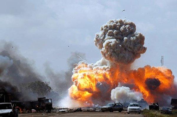 Боевые действия в Ливии (13 фото)