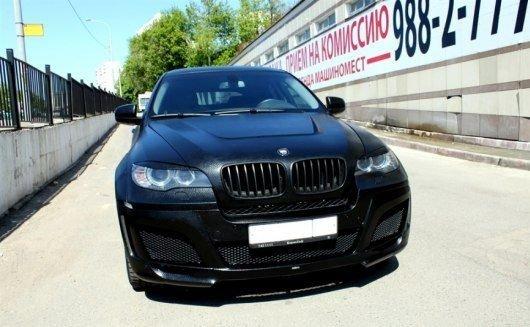 BMW X 6 покрытый кожей (6 фото)